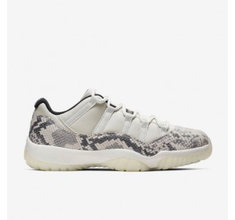 "AIR JORDAN XI LOW ""LIGHT BONE"" -QS"