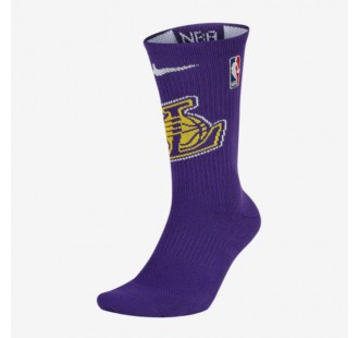 LOS ANGELES LAKERS NIKE ELITE SOCKS
