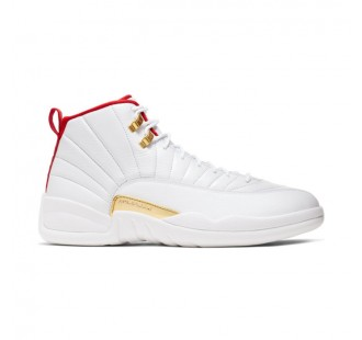 "AIR JORDAN XII ""WHITE/UNIVERSITY RED"" -QS"